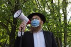 Young Hasidic Jews protest in support of black neighbors, challenging history of racial tensions