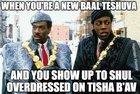 Hemish Humor on the intersection of BT and Tisha B'Av