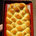 My mom went crazy twisting this Challah. Shabat shalom my friends, stay safe!