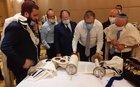 Israeli delegation and local Jews hold Jewish minyan in Abu Dhabi