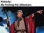Who got the afikoman last night?