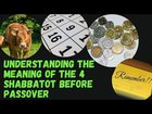 The Meaning of the 4 Shabbatot Before Passover