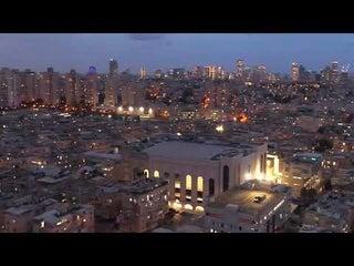 The New Viznitz Shul In Bnei Brak
