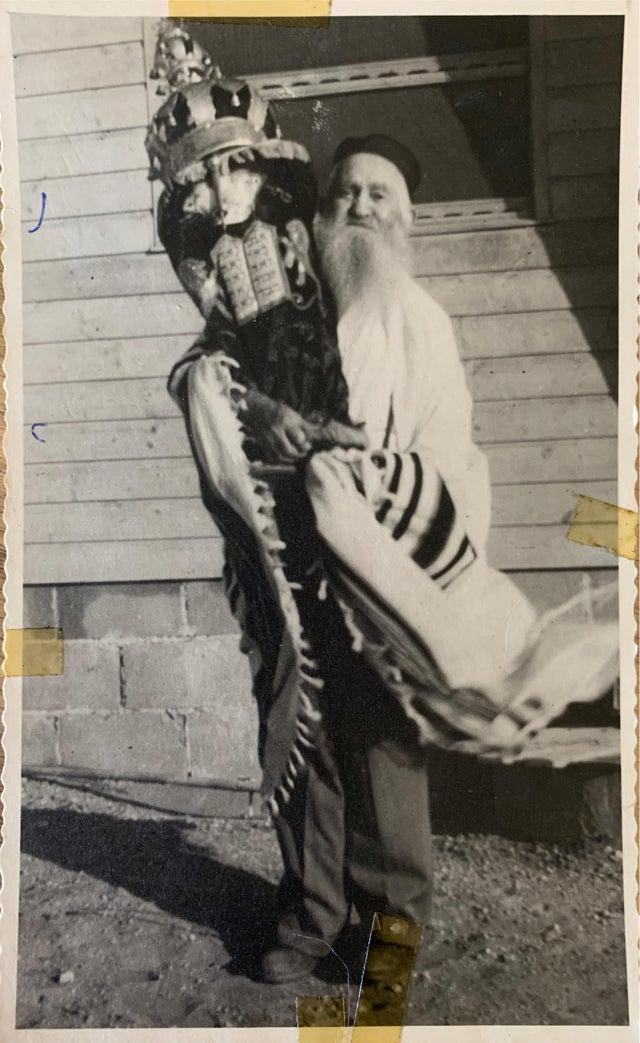 Jumping on the bandwagon. My great great grandfather Yitzhak ben Yehezkel HaLevi