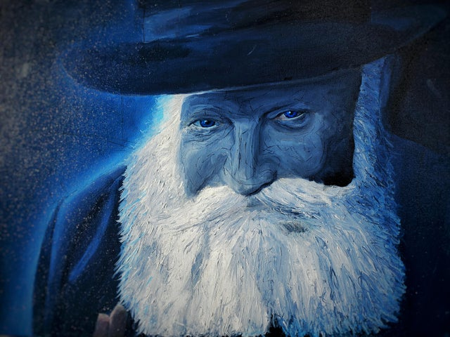 I painted a Rebbe