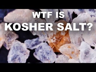 What is kosher salt, and why do (American) chefs love it?