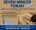 Seven Minute Torah Podcast: The Sabbatical Year and Giving Up Control