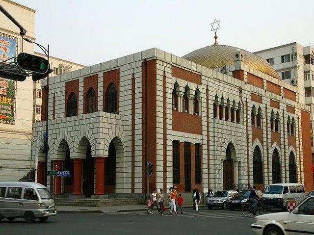 Synagogue in Harbin, Heilongjiang Province, China