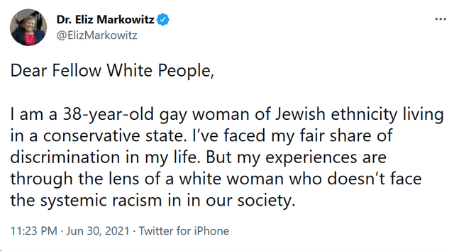 Do you consider yourself white? I see a lot of tweets like this but irl every Jewish person I know identifies as a minority
