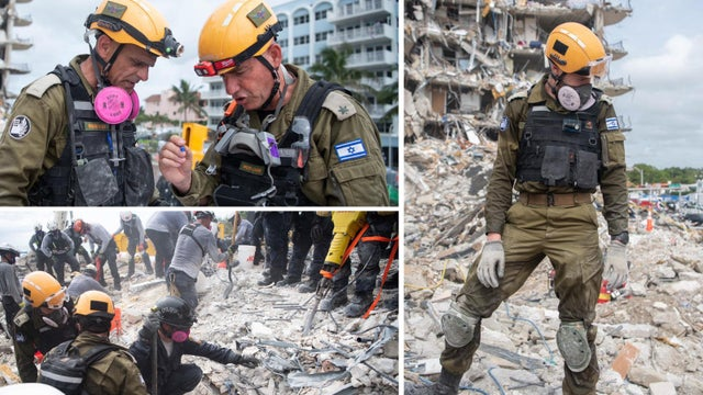 Israeli search & rescue teams are working non-stop with local teams in the Jewish area of #Surfside, Florida, after a building collapse left at least 18 people dead, dozens injured & 145 others missing. Thank you to all the emergency personnel for your heroic efforts!