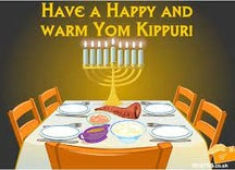 """So excited for the chagim so I can enjoy my favorite annual tradition: googling """"Happy Yom Kippur"""" and seeing all the well-intentioned e-cards that the goyem plan to send us."""