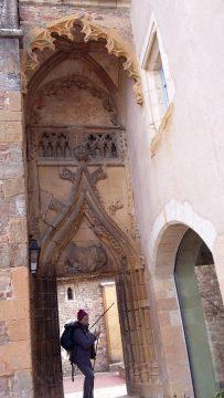 porte du cloître