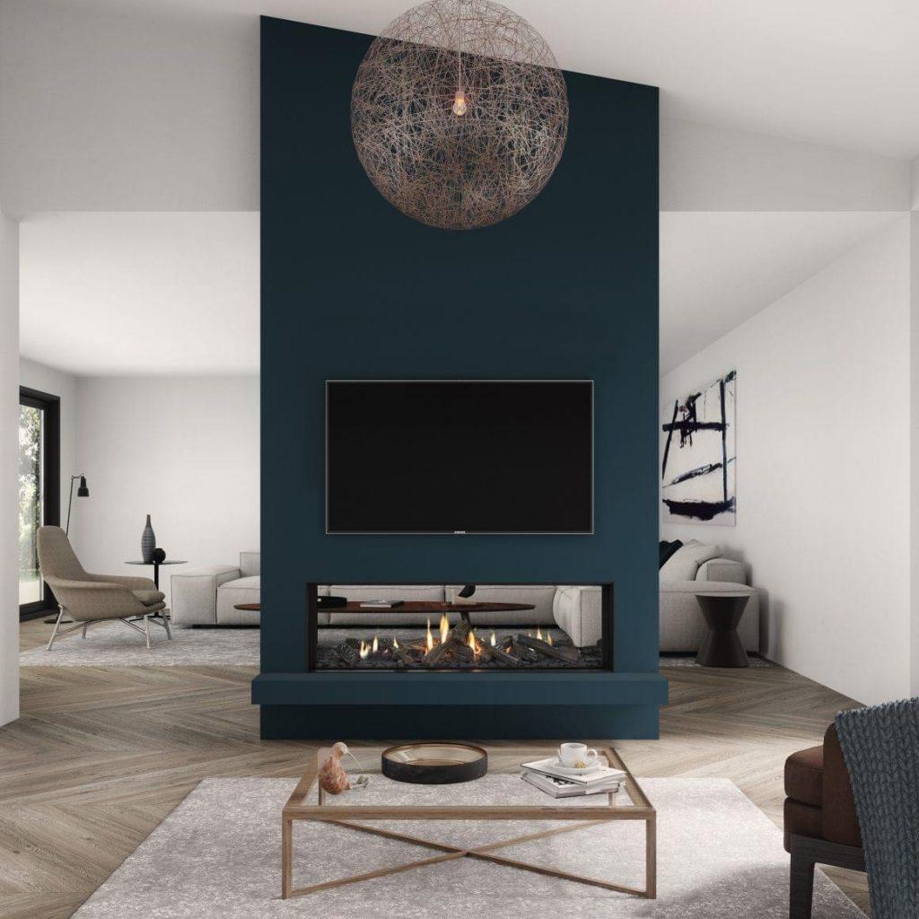 Modern Fireplace Designs Modern Wood Fireplaces