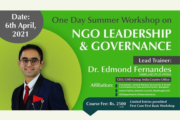 CHD Work shop NGO Leadership
