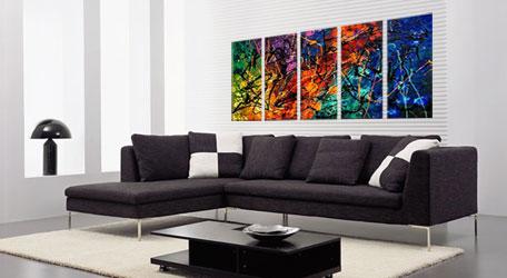 billige gruppemalerier
