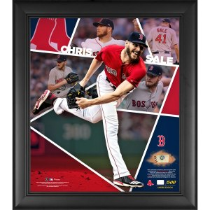 Boston Red Sox Chris Sale Fanatics Authentic Framed 15