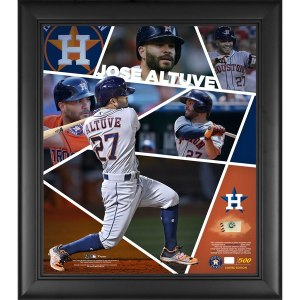 Houston Astros Jose Altuve Fanatics Authentic Framed 15