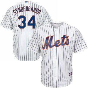 Men's New York Mets Noah Syndergaard Majestic White Home Cool Base Player Jersey