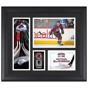 Colorado Avalanche Nathan Mackinnon Fanatics Authentic Framed 15