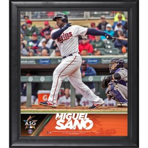 Minnesota Twins Miguel Sano Fanatics Authentic Framed 15