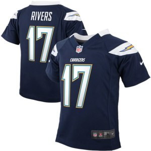 Preschool Los Angeles Chargers Philip Rivers Nike Navy Blue Game Jersey