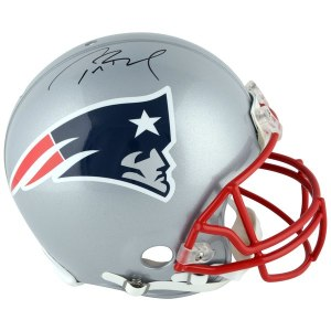 Autographed New England Patriots Tom Brady TriStar Riddell Pro-Line Authentic Helmet