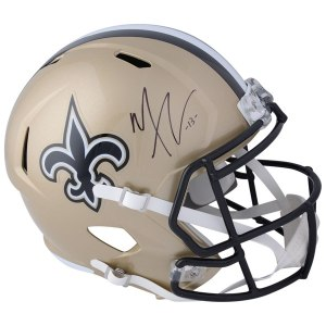 Autographed New Orleans Saints Michael Thomas Fanatics Authentic Riddell Speed Replica Helmet