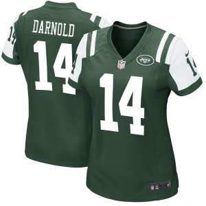 Women's New York Jets Sam Darnold Nike Green Game Jersey