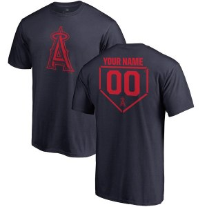 Men's Los Angeles Angels Fanatics Branded Navy Personalized RBI T-Shirt