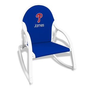 Royal Philadelphia Phillies Children's Personalized Rocking Chair