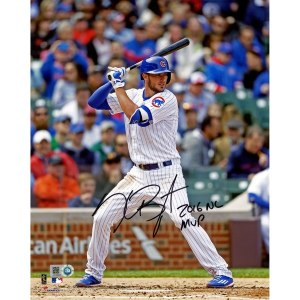 Autographed Chicago Cubs Kris Bryant Fanatics Authentic 8