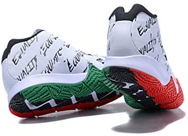 vx Men's Kyrie 4 Basketball Shoes Low Training Shoes Professional Sports Shoes (White Green, 12) Aurora, Colorado