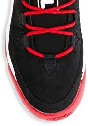 Fila Men's Grant Hill 1 Basketball Shoes (9.5, Black/White/Fila Red) Oceanside, California