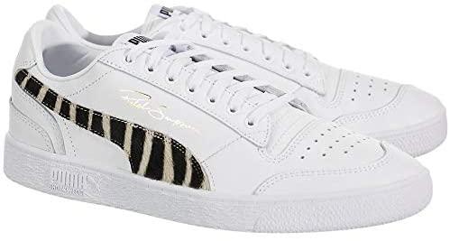 PUMA Mens Ralph Sampson Lo Wild Lace Up Sneakers Sneakers, Orange, California