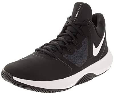Nike Men's Air Precision II NBK Black/White Basketball Shoe 9 Men US Thornton, Colorado