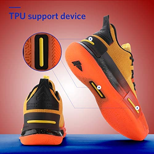 PEAK Mens Flash Basketball Shoes Lou Williams Underground Taichi Adaptive Cushioning Sneakers Non-Slip Sports Shoes for Running, Walking, Fitness Fayetteville, North Carolina