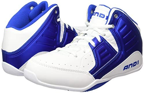 AND1 Mens Rocket 4.0 Mid Basketball Casual Shoes, Thousand Oaks, California