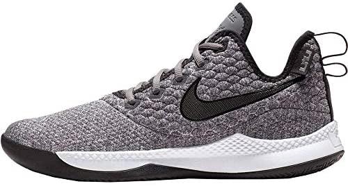 NIKE Mens Lebron Witness III Basketball Shoe (11.5 M US, Dark Grey/Black/White) Glendale, California