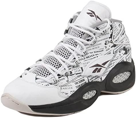 Reebok V69765 Men QUESTION MID Misunderstood Sneakers White Coal Sand Stone Philadelphia, Pennsylvania