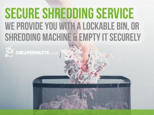 CHWASTE FB shredding