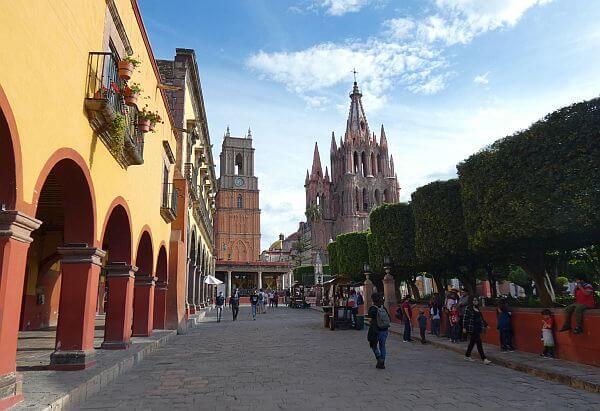 San Miguel de Allende main plaza