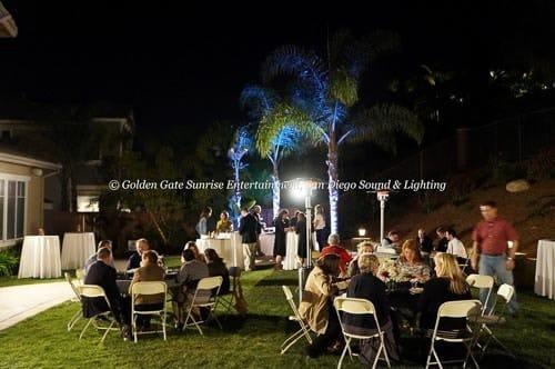outdoor event lighting rental san diego