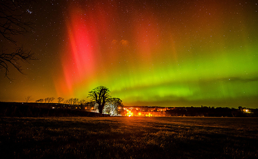 Best Place Scotland View Northern Lights