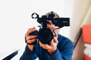 store photos and video in digital camcorders
