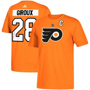Philadelphia Flyers #28 Claude Giroux adidas Name  wholesale Sean Couturier game jersey