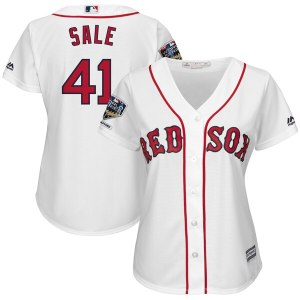 Women's Boston Red Sox Chris Sale Majestic White 2 wholesale Mike Trout Nike jersey