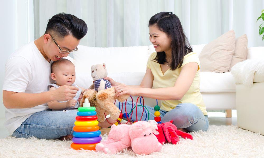 baby passport photo family