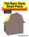 Tall Barn Shed Plans