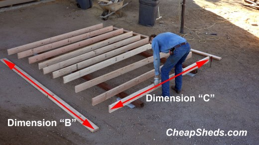 Get cut dimensions from table 2