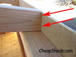 nail through siding into truss